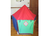BABYDAN PLAYPEN/ FIRE GUARD WITH PLAYHOUSE TENT, WALL FITTING KIT & INSTRUCTIONS
