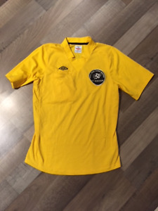 EUC Youth soccer referee jersey YXL, flags and cards