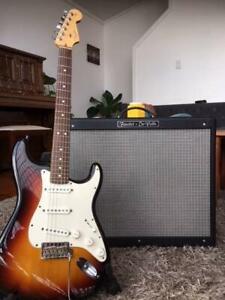 Fender Stratocaster USA & Fender De VIlle Tube Amplifier