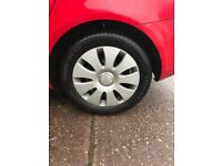 Audi alloys and tyres 16s