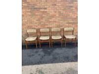 Set of 4 Mid Century Danish Dining Chairs by Erik Buch for O.D. Mobler