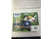 Brand new Epson T009 Stylus Photo colour ink cartridges twin pack