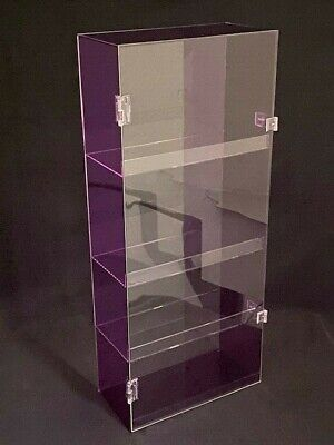 Purple Acrylic Display Case
