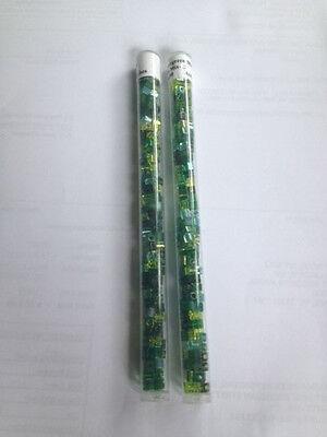 EVERGREEN MIX SB-MIX-12 4X4 CUBES BUGLE BEADS LIME GREEN FOREST EMERALD (Evergreen Mix)