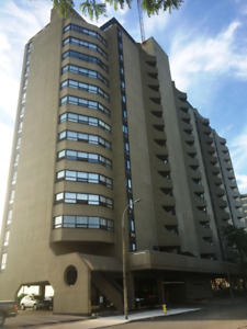 2 bedroom furnished rental in the heart of downtown