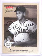 2002 Fleer Greats Autograph