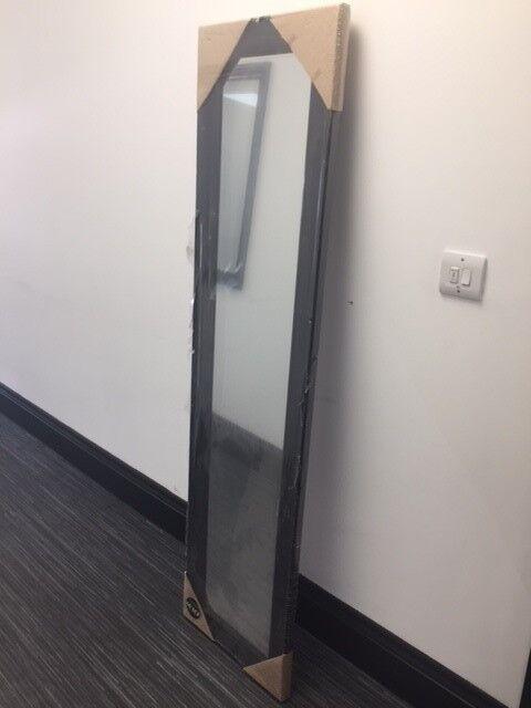 Black Free Standing Full Length Mirror
