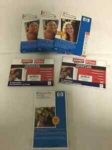 HP & STAPLES BRAND PHOTO PAPER - FOR SALE