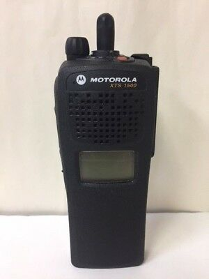 Motorola Xts1500 Model 1.5 Portable Radio 700800 Mhz No Keypad H66ucd9pw5bn