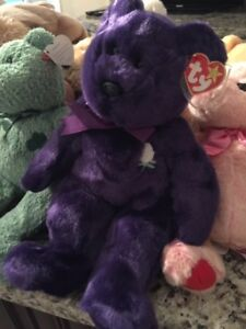 beanie babies including princess diana with tags and tags covers