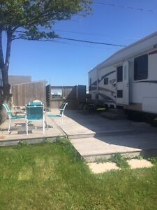 Available for rental at Parasol Campground, Shediac, NB