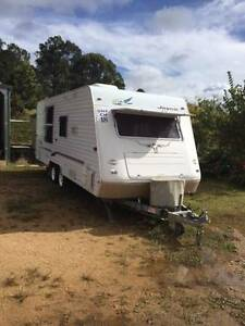 "2003 Jayco Heritage 21'9""  Dual Axle Caravan Tabulam Tenterfield Area Preview"