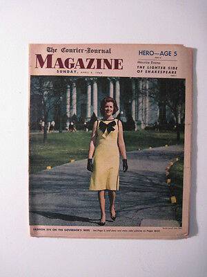 Louisville Courier Journal Magazine 1964  Kentuckys First Lady  Latin Americans