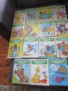 Vintage Sesame Street Library complete set of 15, Jim Henson 1978 Shortland Newcastle Area Preview