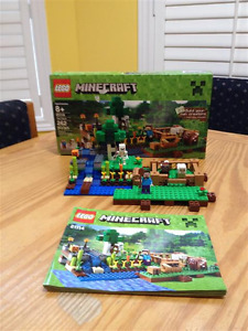 Lego Minecraft building sets - gently used