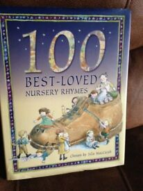 Hard Backed Book with 100 of the best nursery rhymes