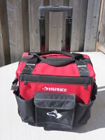 Husky 14inch Rolling Tool Tote
