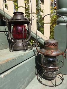 Antique Kerosene Lanterns, Piper & Dietz