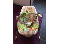Baby Bouncy Chair (Fisher Price -sound & vibration)