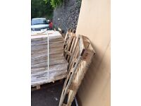 Various sizes of Wood Pallets for Free Collection