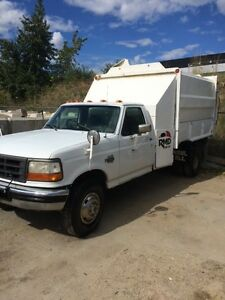 1996 Ford F-450 Garbage Truck