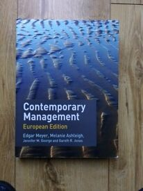Contemporary Management (European Edition)