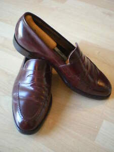 Allen Edmonds Burgundy Dress Penny Loafers 10