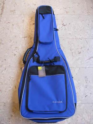 GEWA Gitarrentasche, 4/4 Größe, Premium 20, Klassikgitarre, blau