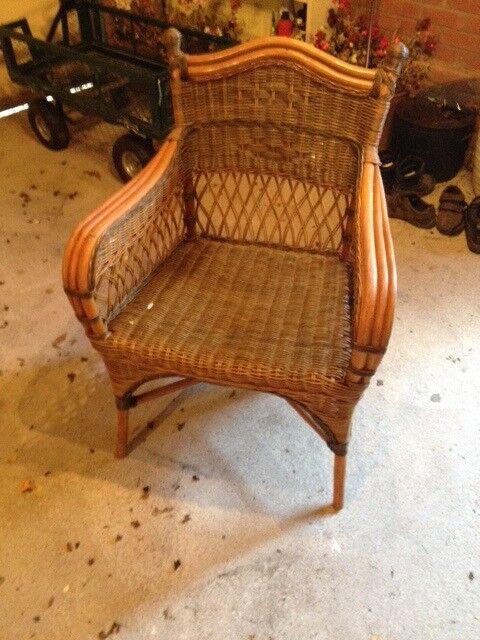 Garden Cane Chairs