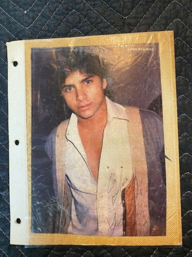Young John Stamos Autograph SIGNED Photo