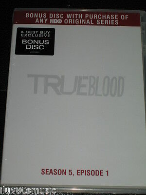 TRUE BLOOD - Season 5, Episode 1 - PROMO DVD BONUS DISC - BEST BUY ONLY!