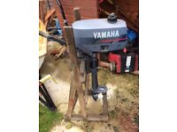 Yamaha 2HP outboard engine in good condition