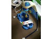 Cradle swing,Fisher Price model-Aquarium