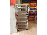 Paper storage trolley