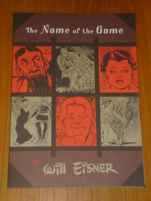 NAME OF THE GAME GRAPHIC NOVEL WILL EISNER GN NORTON 9780393328158