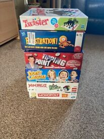 6 Board Games as new
