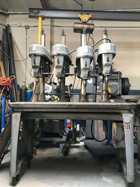 Multi bank drill press