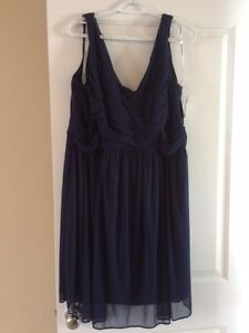 Bridesmaid or Prom Dress size 20 in Marine Blue