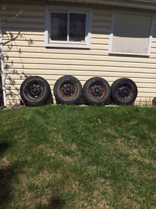 Jeep YJ tires and rims