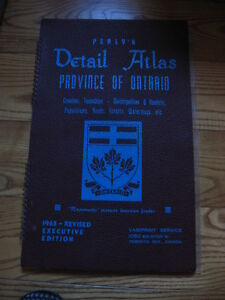 Perly's Detail Atlas Province of Ontario 1965