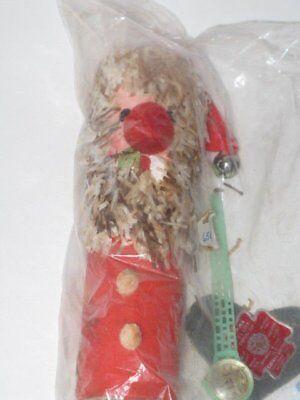 Vtg Gregor Surprise Toy Santa Creations Hidden Trinket Paper 60s Ring Whistle