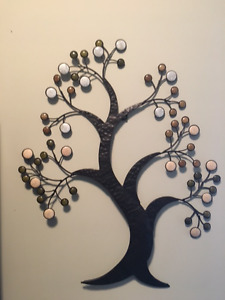 metal art piece - TREE