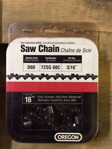 New 16'' Chain Saw Chains Cornwall Ontario image 2