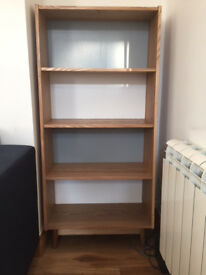 Bookshelf; kitchen table and chairs