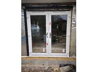PVC French doors