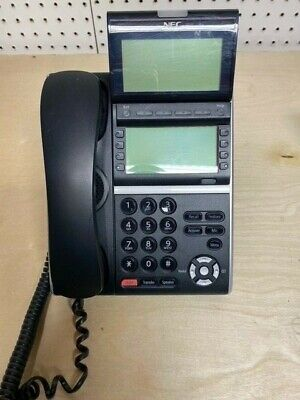 Nec Univerge Dt800 660020 Itz-8ld-3 - Black 12 Button