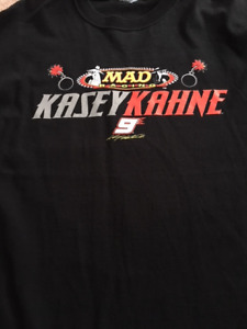 Nascar Shirt and Collectible License Plate