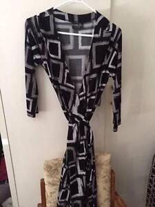 Jersey Wrap Dress Sz S Carly Q Brand Weston Weston Creek Preview