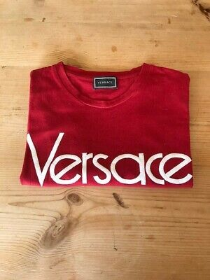 Young Versace Logo Print T-Shirt 14 years, barely worn, authentic