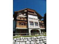 Apartment to rent for the summer in the Swiss Alps. Available 6 months from June to December